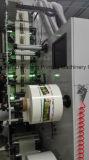 Impresora de Flexo para la escritura de la etiqueta estrecha de la película del Web