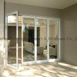 Portello di piegatura di alluminio di nuovi colori multipli interni esterni di disegno