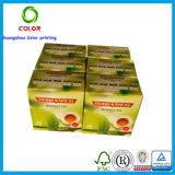 Ventes en gros de papier personnalisées par ventes en gros de boîte à thé vert