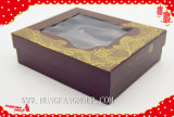 Oro/plata a todo color respetuosos del medio ambiente de la impresión que estampa el rectángulo de papel cosmético