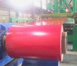 La tapa prepintó bobinas de acero galvanizadas