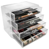 GroßhandelsAcrylic Cosmetic Makeup Organizer Countertop mit Drawer