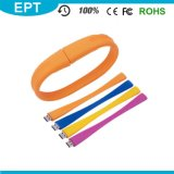 O Wristband elegante do silicone deu forma à movimentação do flash do USB (TG003)