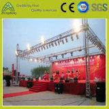 Etapa portable del aluminio el 1.22m*1.22m de la madera contrachapada del concierto de la actividad de interior del acontecimiento