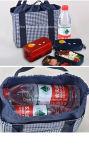 Мешок еды Drawstring коробки хранения охладителя обеда удобства многофункциональный