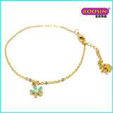 2016 esmaltes encantadores feito-à-medida encantam o bracelete do ouro para meninas