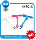 Beweglicher abkühlender Sommer Mini-USB-Ventilator mit kundenspezifischem Firmenzeichen