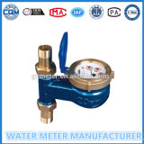 Tipo vertical contador del agua seco de la dial del Multi-Jet
