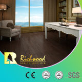 12.3mm HDF Oak V-Grooved Звук-поглощая Wood Laminated Flooring