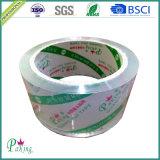 Cinta cristalina estupenda del embalaje de la fuente profesional BOPP de la fábrica