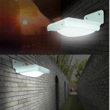 Luz solar al aire libre 16 LED del LED para la lámpara impermeable de Luminaria del panel de potencia del sensor de movimiento de la iluminación del jardín