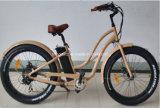 "2016 26 "" fettes elektrisches Fahrrad Gummireifen-Strand-Kreuzer-China-750W"