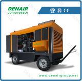 Compresor de aire diesel del tornillo con los fabricantes chinos
