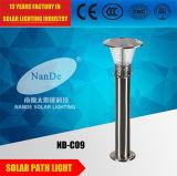 3.7V5ahリチウム電池が付いている3W LEDの高い明るさの庭の太陽ライト