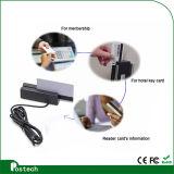 Programa de lectura de la tarjeta magnética de las pistas Lo-Co/Hi-Co del USB 3