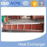 Échangeur de chaleur matériel personnalisé de bonne qualité de tube d'ailette