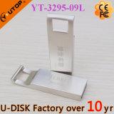 승진 선물 주문 Laser 로고 금속 USB Pendrive (YT-3295-10L)