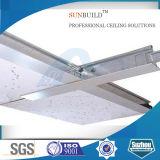 Panneau minéral de bonne qualité de plafond de fibre avec le constructeur de professionnel de la Chine