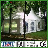 Tenda di alluminio esterna 6m del baldacchino del Gazebo del giardino del Pagoda del blocco per grafici
