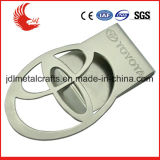 مصنع ترقية فضة معدن عادة مال مشبك مع صنع وفقا لطلب الزّبون علامة تجاريّة