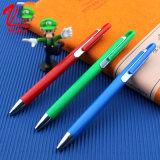 Crayon lecteur de bille en plastique personnalisé d'approvisionnements d'école de papeterie de crayon lecteur de logo sur la vente