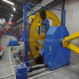 Cable de alambre de cobre que forma la máquina
