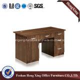 표준 나무로 되는 사무용 컴퓨터 테이블 크기 사무실 디자인 테이블 (HX-6M176)