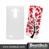 Tampa personalizada do telefone do Sublimation 3D para a tampa do LG G4 (geada)