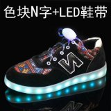 DEL Flash Light Shoes avec DEL Shoes Solution, High Light DEL, Polymer Battery