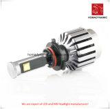 Luz do carro do diodo emissor de luz do farol 6000k H1 do diodo emissor de luz com ventilador