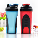 600ml Xyt Private Mold Plastic Protein Shaker Bottle con Stainless Steel Ball