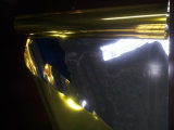 Feuille métallique de PVC