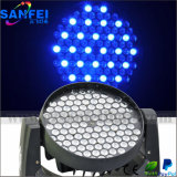 Disco 108X3w RGBW LED Moving Head Wash Lights
