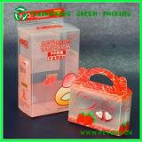 Коробка упаковки PVC пластмассы ясная прозрачная для подарка