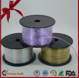 SGS Green Metalized Film Curly Ribbon of Gift Packaging