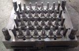 Moulage par injection horizontal adapté aux besoins du client grand par rendement de préforme d'animal familier de bouteille faisant la machine