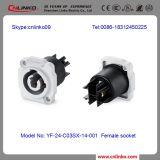 China-Fabrik Cnlinko 3pin Energien-wasserdichter Verbinder-männlich-weiblicher Draht-Verbinder3 Pin-wasserdichter weichlötender Verbinder