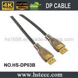 Câble vérouillable 1.3 de Displayport en métal élevé de définition avec l'isolation de PVC