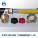 Pipe de gaz ondulée matérielle de l'acier inoxydable 304