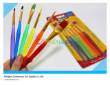 6PCS Colorful Plastic Artist Brush para Painting y Drawing