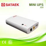 Mini UPS 12V de Eco para o router sem adaptador