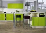 光沢度の高い最上質の現代台所食器棚の価格(平らなパッキング)