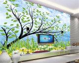Plastica, vetro, Geramic, carta di parete di cuoio