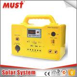 10W 20W 30W Portable DC kits solares para acampamento com MP3 Radio