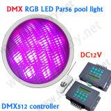 2015 nuova luce subacquea calda di IP68 DC12V per la luce subacquea di alto potere LED della piscina Light/DMX RGB