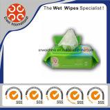 100 Wipes molhados do cuidado de pele do bebê do encarregado do bebê do PCS