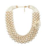 新しい設計されていた方法淡水の真珠のネックレス