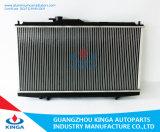 Aluminio auto del coche del refrigerador de petróleo cubierto con bronce para el radiador de Honda
