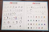 Varietà Crystal Buttons Sew su Garment Buttons per Clothing Accessories