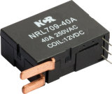 1 단계 48V Magnetic Latching Relay (NRL709A)